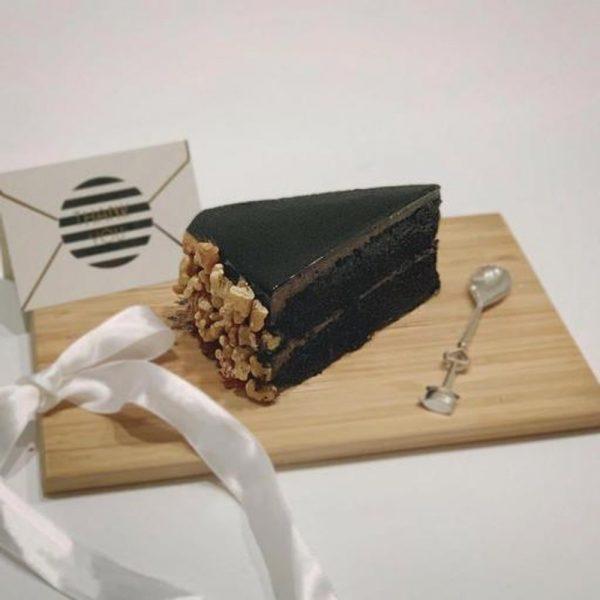 Chocolate Blackout (sliced cake)