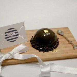Chocolate Mango Dome